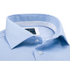 Profuomo overhemd blauw two ply slim fit