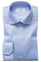 Eton shirt lichtblauw Oxford contemporary fit