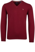 Gant pullover rood lamswol