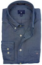 Gant shirt donkerblauw Oxford regular fit