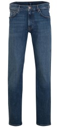 Gant straight jeans mid blue worn in