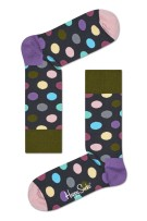 Happy Socks big dot sokken paars