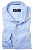 John Miller Tailored Fit shirt lichtblauw two ply
