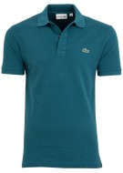 Lacoste polo petrol slim fit