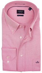 Overhemd Arrow roze button down regular fit