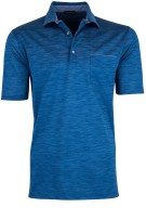 Paul & Shark polo blauw melange borstzakje