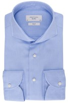 Profuomo overhemd blauw imperial oxford