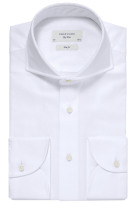 Profuomo overhemd Imperial Oxford wit