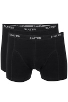 Slater boxershorts trunks zwart 2-pack