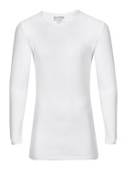 Slater Stretch long sleeve t-shirt wit