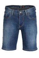 State of Art denim bermuda blauw washed