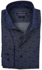 Tommy Hilfiger Tailored shirt blauw motief