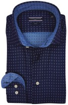 Tommy Hilfiger tailored shirt donkerblauw motief