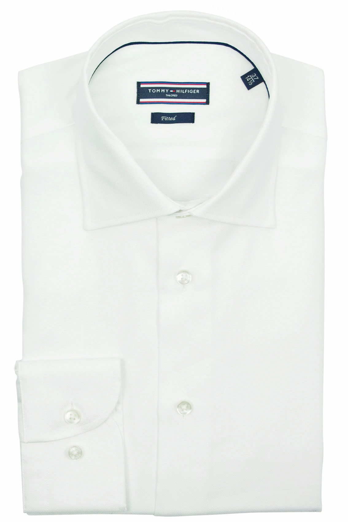 Tommy Hilfiger Tailored shirt wit katoen