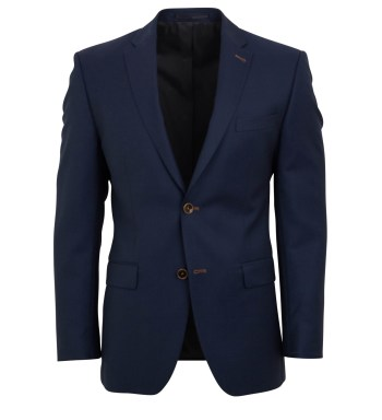 Colbert Roy Robson mix & match blauw structuur normale fit