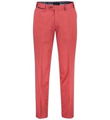Peaker-S chino Hiltl roze rood normale fit