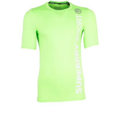 Superdry Sports t-shirt Fluro Lime
