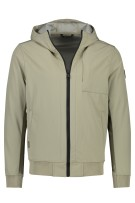 Airforce softshell jack beige