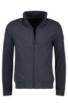 Airforce softshell jack donkerblauw