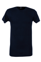 Alan Red T-shirt Donkerblauw Effen Normale fit Derby Long