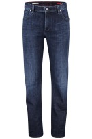 Alberto jeans modern fit lengte 40 donkerblauw