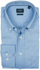 Arrow oxford overhemd blauw button-down