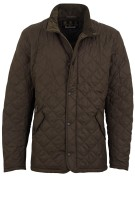 Barbour jas Chelsea sports quilt olijf