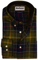 Barbour Murray overhemd groen tartan