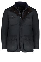 Barbour Ogston wax jack donkerblauw