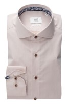 Beige shirt Eterna 1863 Modern Fit