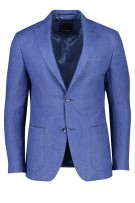Blauw colbert Roy Robson regular fit