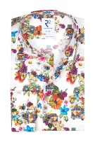 Bloemenprint shirt ml 7 R2