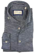 Blue Crane gemêleerd overhemd button down