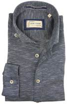 Blue Crane navy overhemd button down
