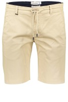 Blue Industry Short Beige Ecru Effen Slim fit