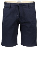 Blue Industry Short Donkerblauw Effen Slim fit