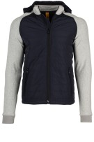 Blue Industry sweatvest grijs navy body