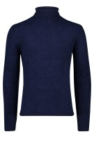 Blue Industry Trui Donkerblauw Effen Normale fit