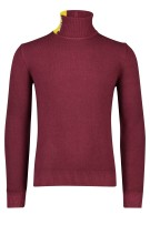 Bob Trui Bordeaux Effen Slim fit