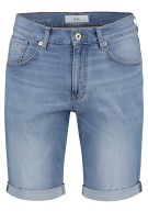 Brax denim shorts Lichtblauw Effen Normale fit
