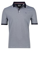 Brax Polo Shirt Donkerblauw Wit Gestreept Normale fit