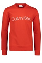 Calvin Klein Trui Rood Effen Normale fit