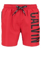 Calvin Klein Zwemshort Rood Print Normale fit