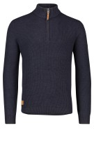Camel Active coltrui donkerblauw rits