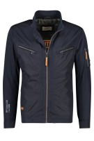 Camel Active Jas Donkerblauw Effen Normale fit