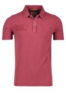 Camel Active Polo Shirt Bordeaux Effen Normale fit