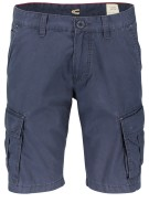 Camel Active Short Donkerblauw Effen Normale fit