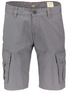 Camel Active Short Grijs Effen Normale fit
