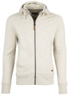 Camel Active sweatvest offwhite capuchon