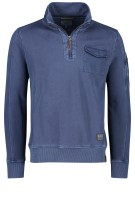 Camel Active Trui Donkerblauw Effen Normale fit
